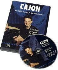 Schlagwerk DVD 14 CAJON Das kleine Drumset Matthias Philipzen deutsch/englisch