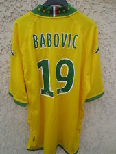 Maillot F.C NANTES Stefan BABOVIC n°19 KAPPA shirt collection maglia trikot XL