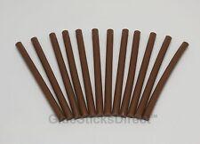 12x Brown Hair Extension Glue Sticks Fusion Made in USA