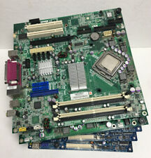 Micro Atx Motherboard Lot Of 5 With cpu (mobo Bundle)