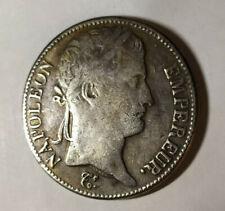 5 Francs 1812 Écu Napoléon I Argentée Repro La Rochelle Empire