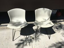 Harry Bertoia For Knoll Fiberglass Side Chairs Eames Mid Century