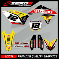 SUZUKI RM RMZ 125 250 450 MOTOCROSS MX GRAPHICS FULL KIT SE1 18