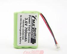 Ni-MH 3.6V 700mAh Cordless Phone Battery w/UV for GE 5-2721 SJB2142 AAA US/RU