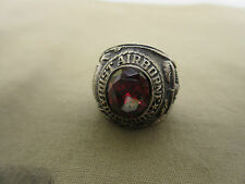 US ARMY 101st AIRBORNE DIVISION Marines Navy Nam Insignia Bague PX Sterling T 59