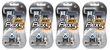 BIC Flex 5 Five Blade Disposable Razors, 3 ct (4 Pack)