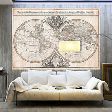 Weltkarte PREMIUM! XXL-Wandbild auf echter Vliesleinwand! 15 Motive k-B-0033-a-a