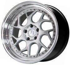 18x9.5 AodHan DS01 5x114.3 +30 Silver Wheels (Set 4)