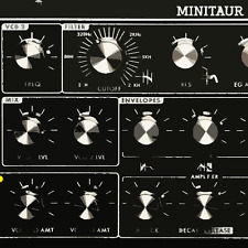 MOOG MINITAUR Analogue Monophonic Synthesizer - Sample Pack