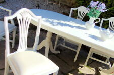 """FRENCH Country Extending Dining Table & 6 CHAIRS  Farrow Ball """"FREE UK DEL"""""""