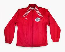 Adidas US Soccer Foundation Passback Climalite Red Track Jacket Stripe Retro L