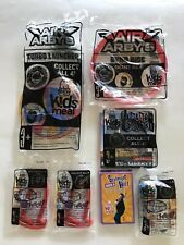 Lot of 7 NEW 2008 ARBY'S Kids Meal Collectible Toys - Pen Cards Book Launcher