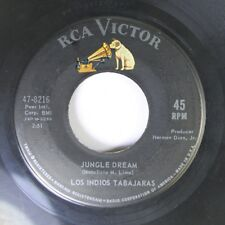 Pop 45 Los Indios Tabajaras - Jungle Dream / Maria Elena On Rca Victor