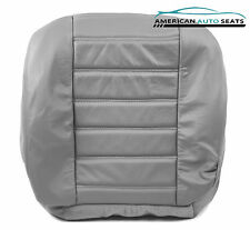 2003 2004 Hummer H2 SUV -Driver Side Bottom Replacement Leather Seat Cover Gray