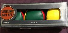 (3-Pack) Multi-Color Circus Juggling Bean Ball Set Hacky Sack NingboBronco