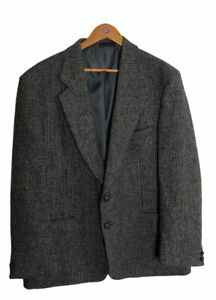 Harris Tweed Mens Jacket Made in Australia 46R Excellent Condition As New