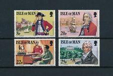 Isle of Man  193-6 MNH, Colonel Mark Wilks, 1981