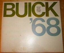 Buick '68.  Catalogue of 1968 Buicks. 72+ pages.  Pennsylvania dealerships.