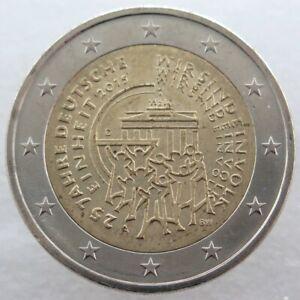 AL20015.2A - ALLEMAGNE - 2 euros commémo. Réunification allemande - 2015 A