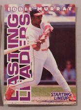 1996 Starting Lineup Eddie Murray Cleveland Indians Baseball Card