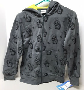 Fortnite Unisex Hoodie Jacket with Zip Up Skelly NWT YOUTH