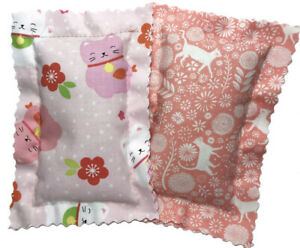 Catnip Pillows Two Pack Pinks * Free Shipping * Made in the USA