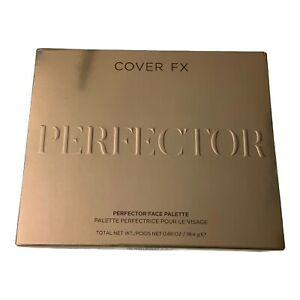 Cover FX Perfector Face Palette New in Box 0.68 oz