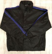 Motorcycle Rain Gear Thunder Under Black Jacket with Attached Hood Size:M NEW
