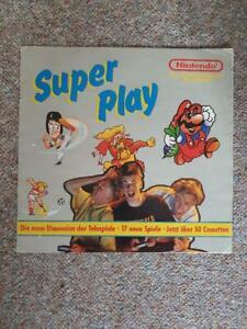 Super Play NES Nintendo Flyer 80er Jahre SELTEN!