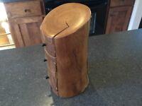 Folk Art jewelry box hand crafted.