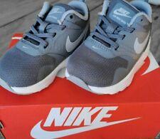 Boys infant  Nike trainer Air Max Tavas size UK 4.5  EU 21.11 /12cm blue Grey