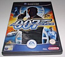James Bond 007 Agent Under Fire Nintendo Gamecube PAL *Complete*