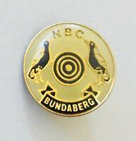 North Bundaberg Bowling Club Badge Pin Rare Vintage (L3)