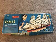 Graupner Pamir Vintage Wooden Model Boat Excellent Condition
