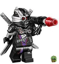 2014 LEGO 70721 - NINJAGO - General Cryptor - Mini Fig / Mini Figure