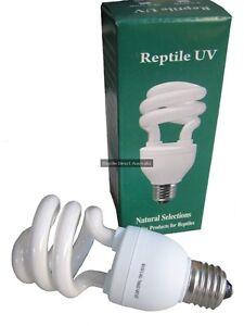 Reptile Full Spectrum UVA UVB Bulb 2% 5% 10% UV lighting Lizard Turtle Snake