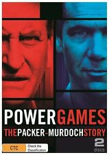 Power Games - The Packer Murdoch Story 2013 DVD New Sealed Free Post R4 D76