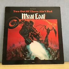 """MEAT LOAF Two Out Of Three Ain't Bad 1991 UK 12"""" Vinyl Single EXCELLENT CONDITIO"""