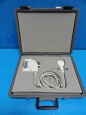 Siemens 100l25 Linear Array Transducer With Case For Sonoline Versa Pro 11903