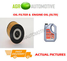 PETROL OIL FILTER + FS 5W40 ENGINE OIL FOR VOLVO S40 1.8 116 BHP 1998-03