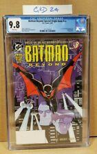 Batman Beyond Special Origin Issue NN 6/99 #1 (1999) CGC 9.8 CERT 3712165014