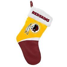 """Washington Redskins Holiday 17"""" Christmas Stocking Team Logo New 2016"""