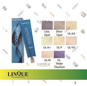 Matrix SoColor Permanent Creme Hair Colour Tint 85g Ultra Blonde Series