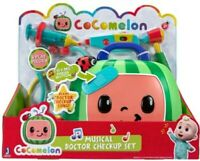 Cocomelon Musical Doctor Check Up Set Toy 4 Play Pieces JJ Dr Check Up Song New