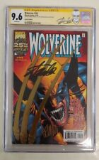 Wolverine 145 Gold Foil CGC SS 9.6 Signed 2X Stan Lee & Leinil Francis Yu