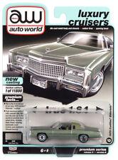 2020 AUTO WORLD 1:64 *PREMIUM 5A* LIDO GREEN 1975 Cadillac Eldorado NIP