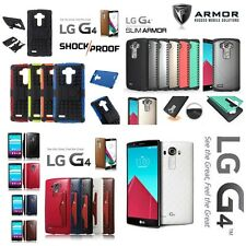 !! DESTOCKAGE !! Etui Coque porte cartes Shockproof Antichocs Case Cover LG G4