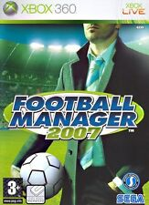 Football Manager 2007 Xbox 360 It Import Sega