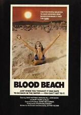 BLOOD BEACH on DVD Rare 1980 Horror film Great Quality