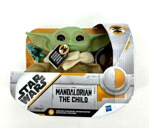 "Star Wars Mandalorian Talking Baby Yoda The Child 7.5"" Grogu New"